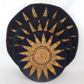 Etta Tribal Wall Plates Set of 3