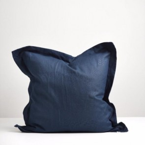 Navy Linen Euro Pillowcase