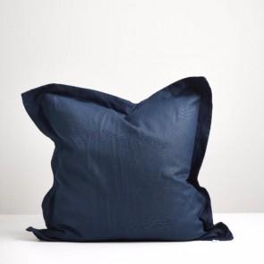 Navy Linen Euro Pillowcase