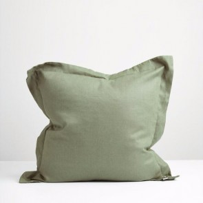 Sage Green Linen Euro Pillowcase
