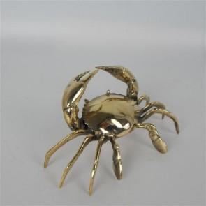 Brass Crab I Decor