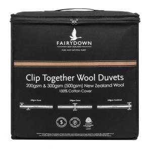 Fairydown Clip Together Wool Duvet Inner