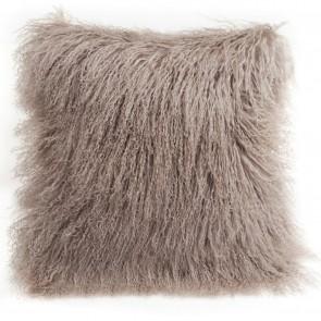 Tibetan Sheepskin Cushion by Auskin - Birch