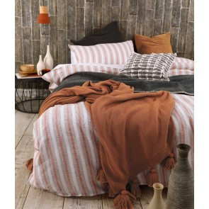 Finch Duvet Cover Set by MM Linen - Umber