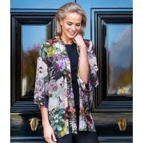 Fiori Short Kimono by MM Linen