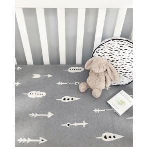 Baby Blanket 100% Cotton Arrow