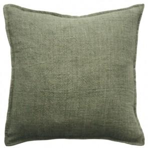 Mulberi Flaxmill Olive Cushion