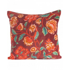 Lily Red Cushion