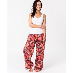 Lily Red Lounge Pants