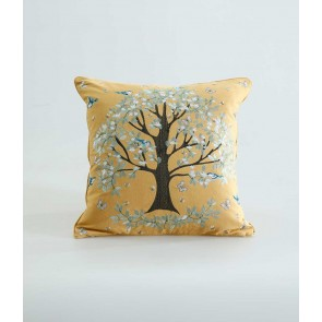 Flourish Cushion by MM Linen - Gold