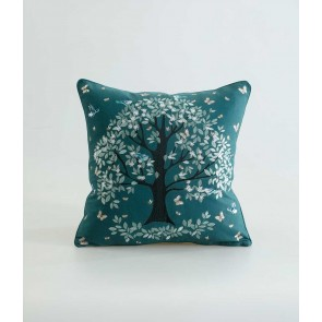 Flourish Cushion by MM Linen - Green