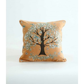 Flourish Cushion by MM Linen - Gold