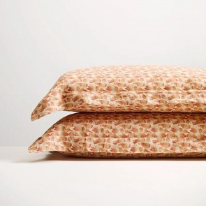 Brick Flutter Pillowcase Pair