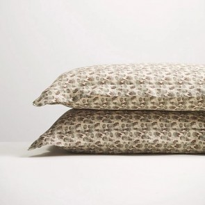 Olive Flutter Pillowcase Pair