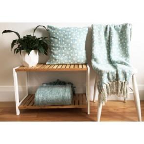 Mosaic Blue Cushion