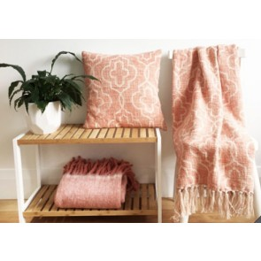 Mosaic Dusty Pink Cushion