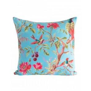 Paradise Blue Cotton Cushion