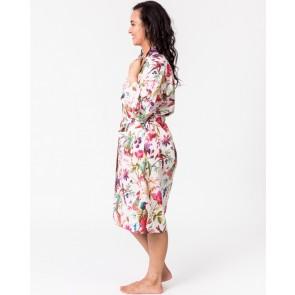 Paradise Off-White Kimono