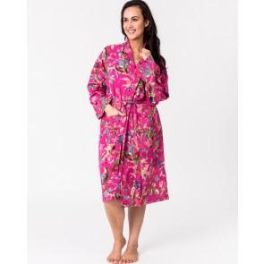 Paradise Hot Pink Kimono