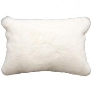 Heirloom Polar Bear Faux Fur Long Cushion