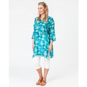 Poppy Turquoise Tunic