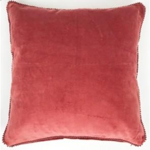 Red Lace Velvet Cushion