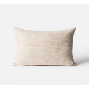 Freida Silk/Cotton Blend Cushion Cover Natural - 2 Pack