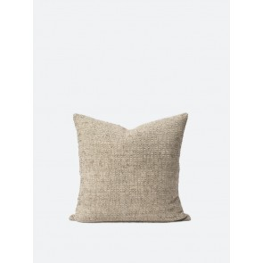 Freida Silk Blend Cushion Cover Matcha/Natural - Set of 2