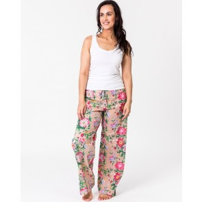 Lounge Pants Spring Bloom Natural