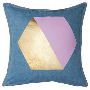 Gem Lavender Square Cushion by Bambury