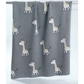 Giraffes Baby Blanket by MM Linen