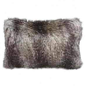 Heirloom Golden Pheasant Faux Fur Long Cushion