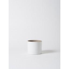 Grow Plant Pot Matte White Medium - Set of 2