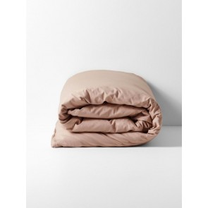 Halo Organic Cotton Duvet Cover by Aura - Rosewater