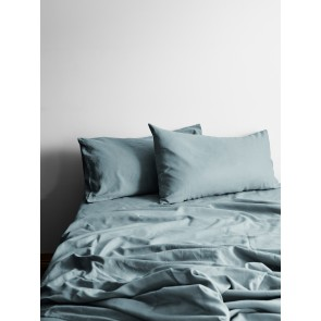Halo Organic Cotton Sheet Set by Aura - Eucalyptus