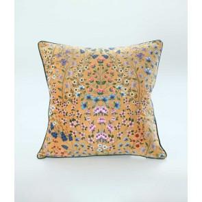 Hattie Large Velvet Cushion by MM Linen - Gold