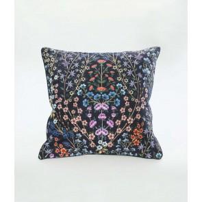 Hattie Large Velvet Cushion by MM Linen - Grape