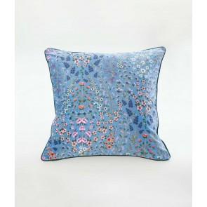 Hattie Large Velvet Cushion by MM Linen - Sky