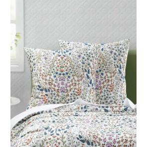 Hattie White Euro Pillowcase Pair