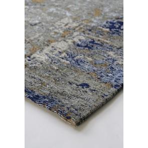 Limon Belgrade Hazel Floor Rug - Blue-Grey