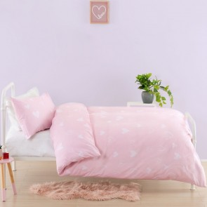 Hearts Duvet Cover Set by Squiggles