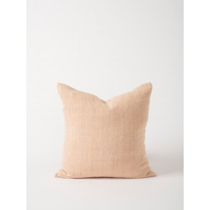 Heavy Linen Cushion Cover Blush - Set of 2