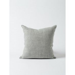 Heavy Linen Cushion Cover Grey - Set of 2