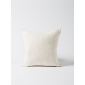 Heavy Linen Cushion Cover Ivory - Set of 2