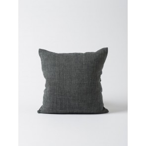Heavy Linen Cushion Cover Slate - Set of 2