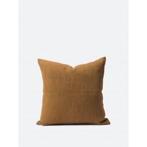 Heavy Linen Jute Cushion Cover Marsala - 2 Pack