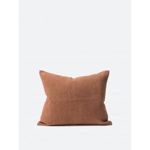 Heavy Linen Jute Cushion Cover Rose - 2 Pack