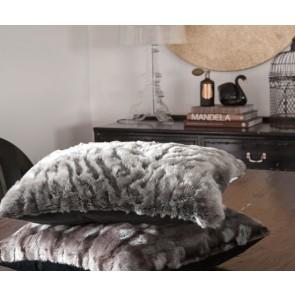 Heirloom Pewter Chinchilla Long Cushion