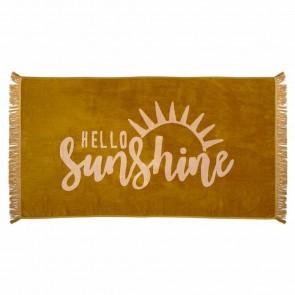 Hello Sunshine Towel by Bambury