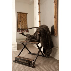 Heirloom Husky Faux Fur Throw